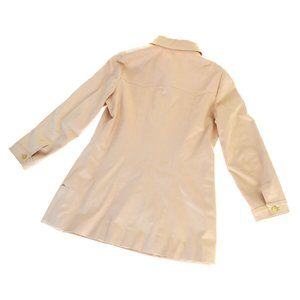 CHANEL Jackets & Coats - CHANEL Button Jacket Shirt Tops Cotton Blended